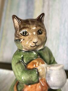 Beatrix Potter Simpkin BP3b rare Beswick cat mint No Box