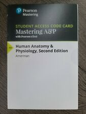 Mastering A&P - Access Card - Human Anatomy & Physiology 2nd Edition
