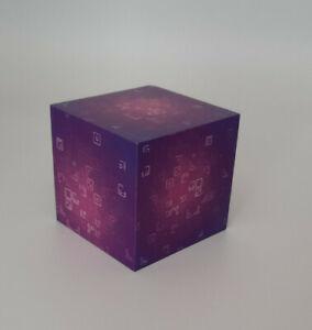 fortnight gaming purple cube prop block/play block  great gift
