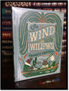 Wind in the Willows Illustrated Sealed Leather Bound Collectible Gift Hardback
