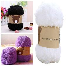 50g Super Soft Knitting Chunky Hand-knitted Wool Yarn Baby Skein Ball POP