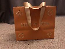 Louis Vuitton bolso de regalo de papel de edición limitada de oro