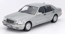 NOREV 2015 1997 Mercedes Benz S600 W140 V12 Light Gray 1:18 LE 1000*New!