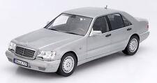 NOREV 2015 1997 Mercedes Benz S600 W140 V12 Light Gray 1:18 LE 1000*New!