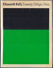 Ellsworth Kelly: Drawings, Collages, Prints by Diane Waldman 1971 HC/DJ 1ST/1ST
