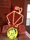 """Rare Authentic Collectable Coors """"Red Light"""" Neon Man Cave Bar Sign"""