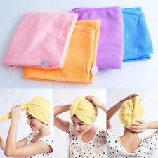 Magic Quick-Dry Hair Towel Hair-drying Ponytail Holder Cap Microfiber Hair Towel