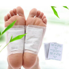 200 Pcs PremiumGOLD-Kinoki Detox Foot Pads Organic Herbal Cleansing Patche
