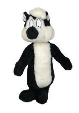 """Vintage Looney Tunes 1997 Pepe Le Pew Plush 16"""" Stuffed Animal Toy Collectible"""