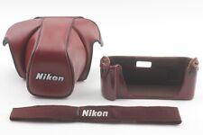 [Near Mint w/ Strap] Nikon CF-23D CF-22 Camera Case for F3 From Japan 060