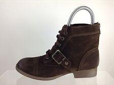 Zigi Soho Womens Brown Leather Ankle Boota 6 M
