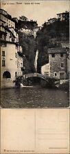 Nesso, lago di Como, veduta dell'orrido, nuova