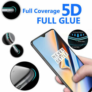 5D Anti Scratch 9H Tempered Glass Screen Protector for Oneplus 6T