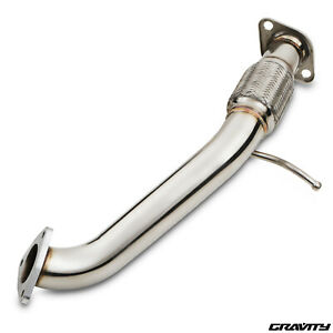 """2.5"""" STAINLESS EXHAUST DECAT DE CAT FRONT DOWNPIPE FOR HONDA CIVIC FN3 2.2 CDTI"""