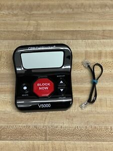 CPR Phone Call Blocker V5000 All in One Call Blocker Robocalls Landline Tested