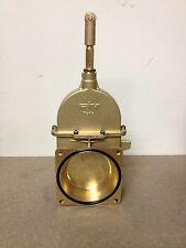 "Brass Vacuum Slurry Tanker Valve 6"" - New"