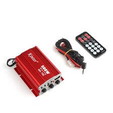 Kinter 500W 2 Channel Car Audio AMP Stereo Amplifier USB MP3 AUX FM Input MA-700