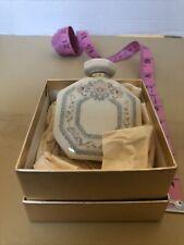 Vintage Lenox Charleston Pattern Perfume Bottle In Original Box With sample