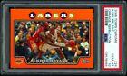 2008-09 Topps Chrome Orange Refractor /499 Kobe Bryant + LeBron James #24 PSA 10