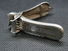 Antique Ansonia Nail Clippers with lockable switch