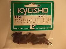 1121 Flush Head Screw 4mm - Kyosho Hardware Optima Mid Ultima Lazer
