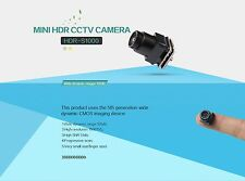 1000TVL 60fps 12V Small Size 3g weight 0.001lux Night Vision HDR HD Micro Camera