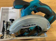 "New Makita 18V Cordless LXT Lithium-Ion 6-1/2"" Circular Saw - XSS02 - TOOL ONLY"