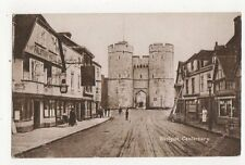 Westgate Canterbury Vintage Postcard 278a
