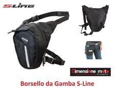 """304 - Borsello/Marsupio da Gamba """"S-Line"""" Multitasche e impermeabile 1,5L Univer"""