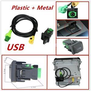 100% new Car AUX USB Switch Cable Fit For RCD510 RCD310 Golf/GTI/R MK5 MK6 Jetta