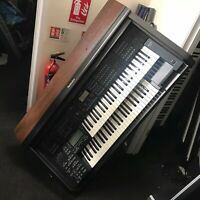 Technics LX-GX5 Electric Organ ( VERY LOW VOLUME )( PERCUSSION OUTPUT WORKS)