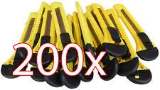 200 X Cuttermesser 18 mm Universal Cutter Teppichmesser Paketmesser