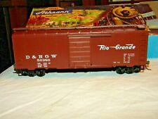 BevBel/Athearn #1467 D&Rgw 40' Box Car, #50380, Kds