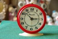 Vintage Soviet Watch Vityaz alarm clock working desk clock USSR