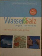 WASSER & SALZ - Urquell des Lebens - Dr. Barbara Hendel & Peter Ferreira - BUCH