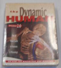 The Dynamic Human 2.0 Software Cd-Rom Macintosh And Windows Anatomy Physiology