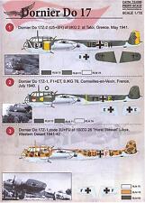 Print Scale Decals 1/72 DORNIER Do-17 German WWII Bomber