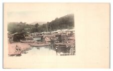 Early 1900s Nogi Town near Nagasaki, Japan Postcard *5U7