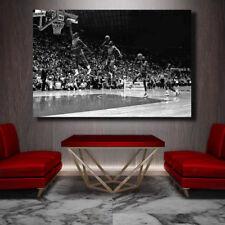 Michael Jordan Motion Still Slam Dunk Contest Canvas Print - Amazing 36 x 24