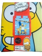 The Simpsons Duvet Cover Set King Size With Two Pillow Cases 230cmx220cm Primark