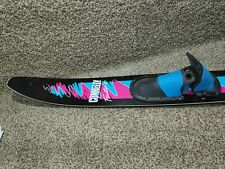 Connelly Factor 6 Water Ski w/ Adjustable Skiing Bindings