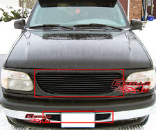 Fits 95-98 Ford Explorer Black Billet Grille Combo