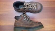 Dr. Martens Women's Brown Leather Ankle Lace Up Boots Size 5M 8699 England