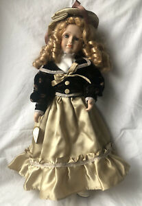 Knightsbridge Collection Hand Painted Porcelain Doll - Sheila (No 2)