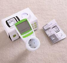 EU Plug energy meter power 230V 16A AC KWH Consumption Monitor Analyzer