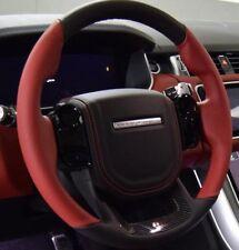 Range Rover Sport L494 SVR Red Heated Steering Wheel With Carbon Fiber Trim OEM