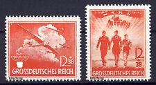 Deutsches Reich 1945 MiNr. X-XI (*) gezähnt  FÄLSCHUNG
