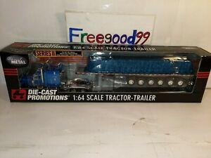 1:64 DPC Tractor Trailer 7axle trailer Tarp Decade of die-cast #31199~RARE ONE