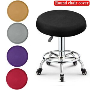 4/8 pcs Stretch Removable Washable Dining Spandex Chair Seat Cover Slipcover Set