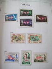 More details for gibraltar collection: 1966-71 24 different sets u/m